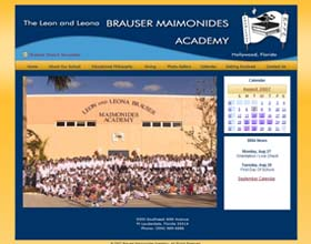 Leon and Leona Brauser Maimonides Academy, Hollywood FL